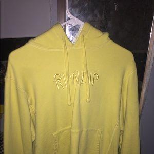 Yellow RipnDip sweatshirt
